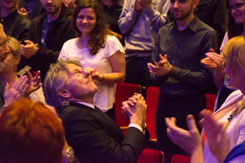 Roman Polanski present at Scoring4Polanski concert