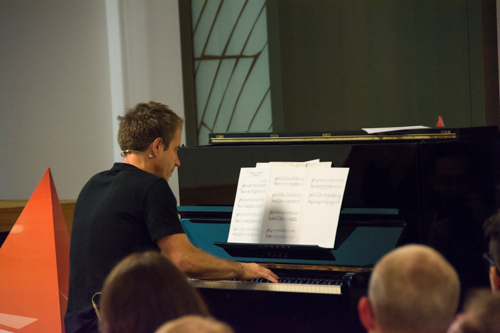 Harry Gregson-Williams at his workshop