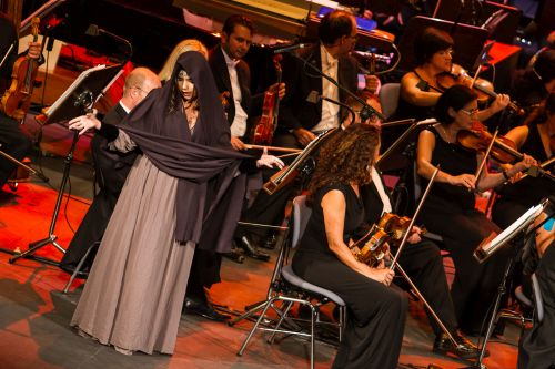 FImucité - Space Opera. Orquesta Sinfónica de Tenerife dirigidos por Lolita Ritmanis, Christian Schumann y Diego Navarro © Aarón S. Ramos/Fimucité